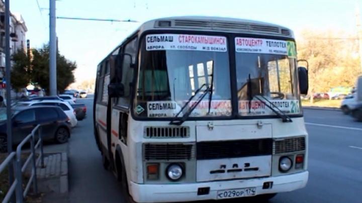 «Кривой» на линию: водителя маршрутки задержали пьяным на северо-западе Челябинска