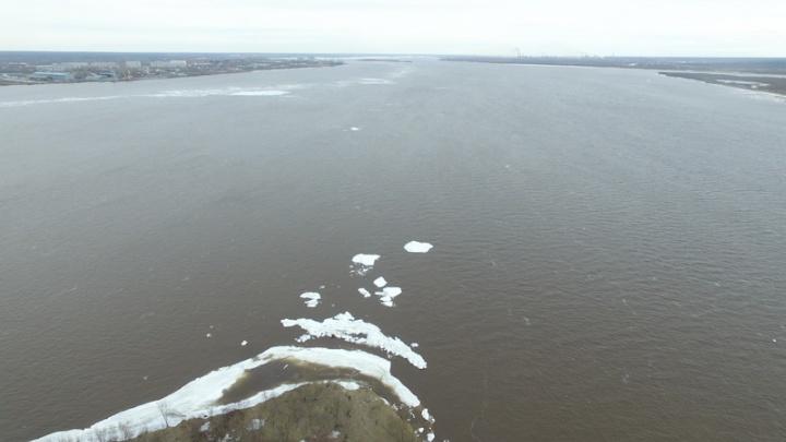 Прохождение ледохода через реку Мезень ожидается 8-13 мая