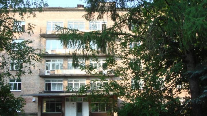 В Ярославле вспыхнул пожар на территории больницы