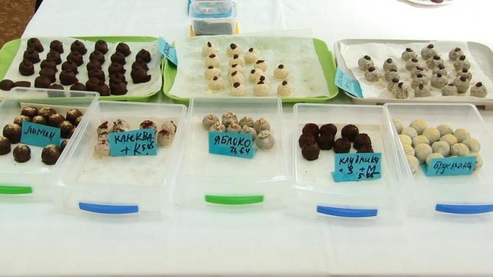 В Самарском политехе научились делать низкокалорийные конфеты