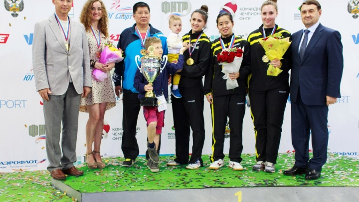 Теннисистки архангельского клуба «Родина» стали трехкратными чемпионками России