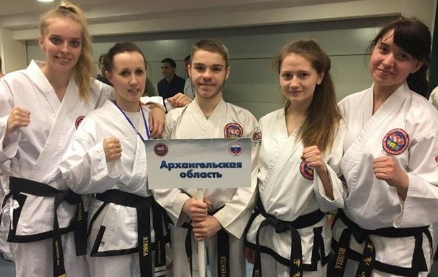 Северяне завоевали три медали чемпионата России по тхэквондо