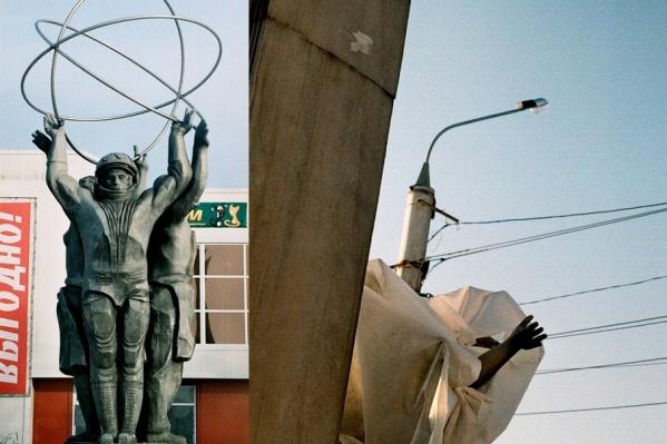 В 2012 году скульптура пострадала от шторма и власти решили не восстанавливать ее