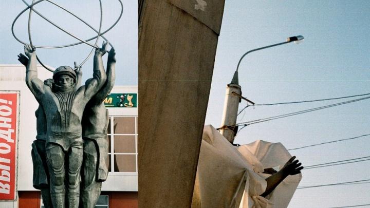 Прости, Юра: памятник советской космонавтике в Архангельске не восстановят