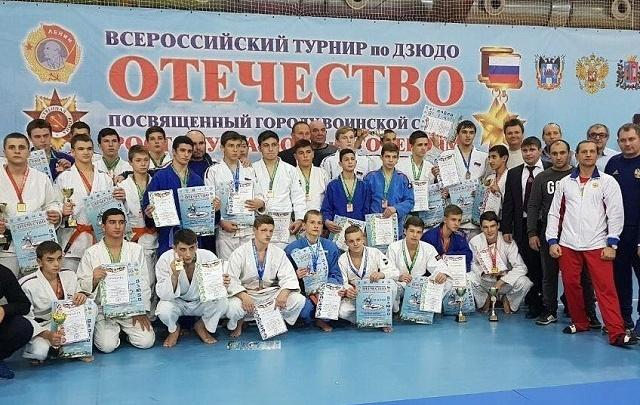 Ростовчане одержали победу во Всероссийском турнире по дзюдо