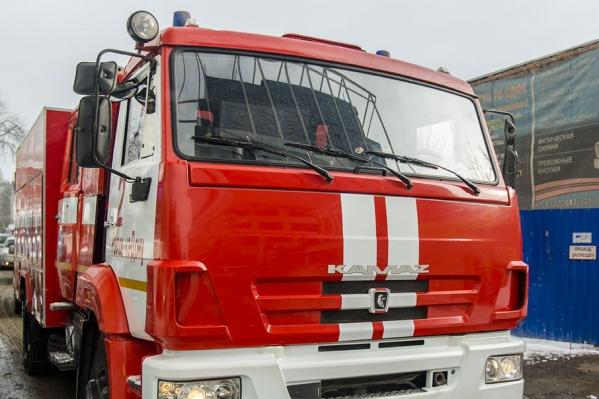 В различных районах региона введен режим пожароопасности 5 класса