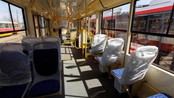 В Красноармейском районе Волгограда перестали ходить трамваи
