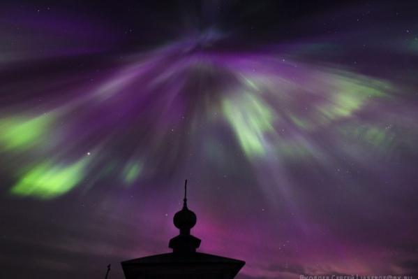Увидеть северное сияние можно будет ночью в четверг и пятницу