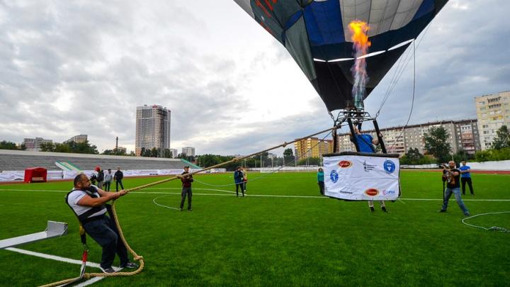 Челябинский силач Эльбрус Нигматуллин установил новый мировой рекорд в Екатеринбурге