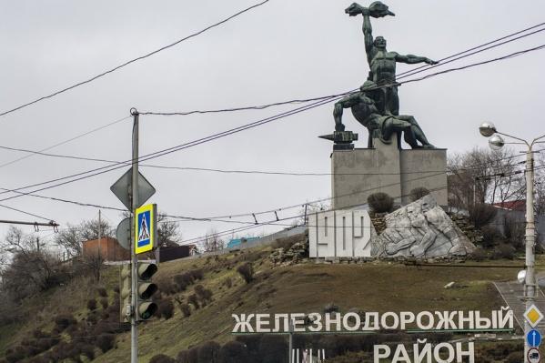 Строительство храма в парке возмутило жителей Железнодорожного района
