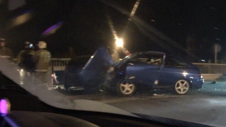 В Перми три человека пострадали в массовой аварии