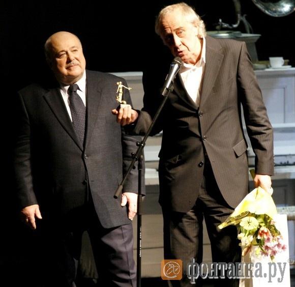 Единственным знакомым Александру Калягину лауреатом оказался Сергей Мигицко