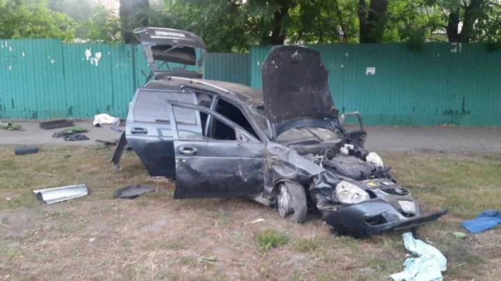 В Самаре ищут очевидцев аварии с участием ВАЗа, который врезался в остановку