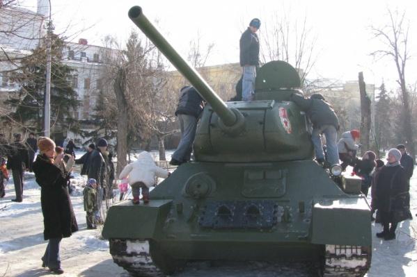 2 февраля по Волгограду вновь пройдут танки