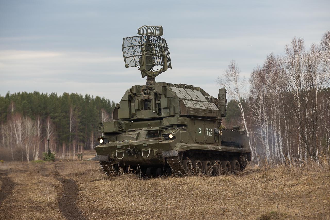 Зенитно-ракетный комплекс «Тор»
