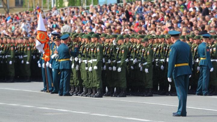 Репетиции парада Победы на площади Куйбышева пройдут 4 и 5 мая