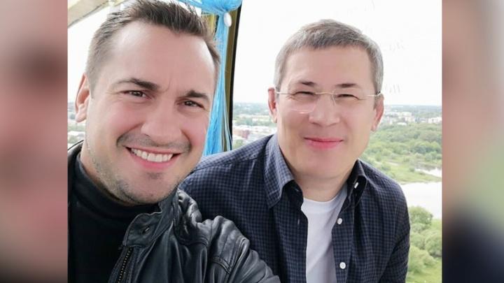 Дзюдоист Дмитрий Носов в Ярославле покатал главу Красногорска на колесе обозрения