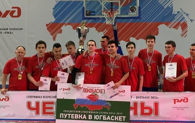 Юные ростовские баскетболисты стали лучшими в России