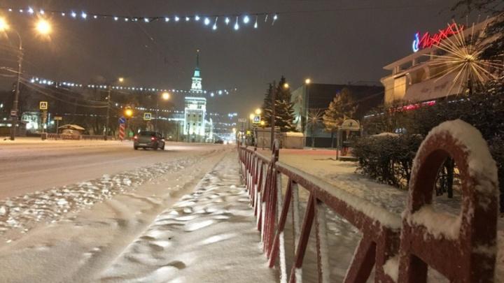 Ночная метель: как замело дороги Ярославля