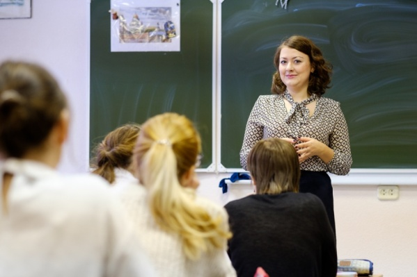 На фото - Мария Механошина, ставшая лучшим учителем 2017 года в Перми