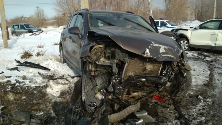На Южном Урале пьяный бесправник устроил крупную аварию