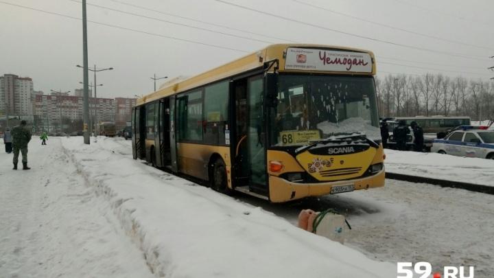 Один подросток погиб и двое пострадали при столкновении автобусов в Перми