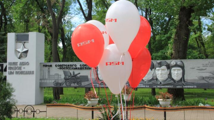 День Победы с Ростсельмаш: солдатская каша, селфи с агромашинами и визиты к ветеранам