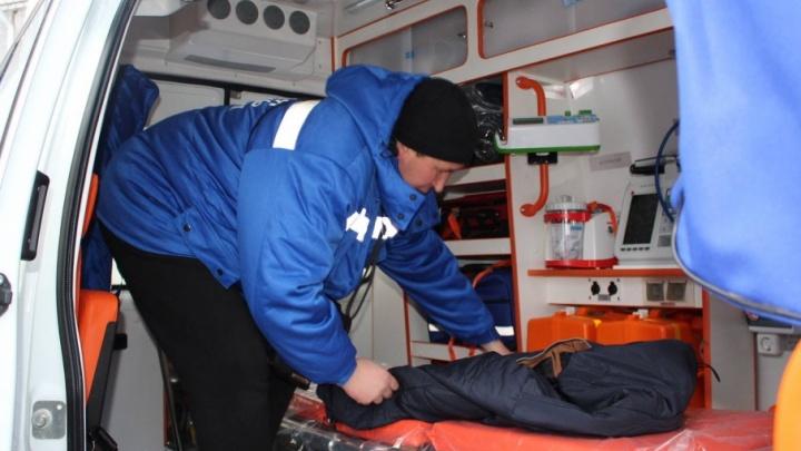 Северодвинск получил пять новых машин скорой помощи
