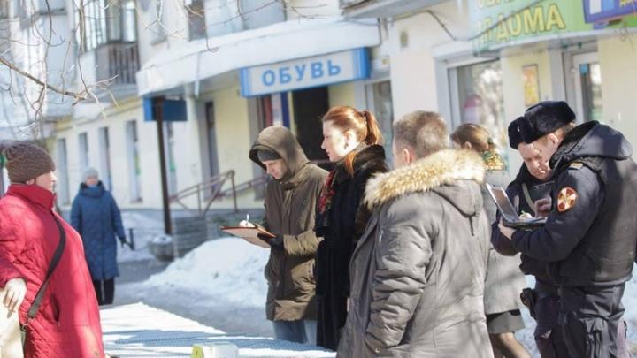 В Ярославле женщина слезами упросила власти дать ей место для торговли