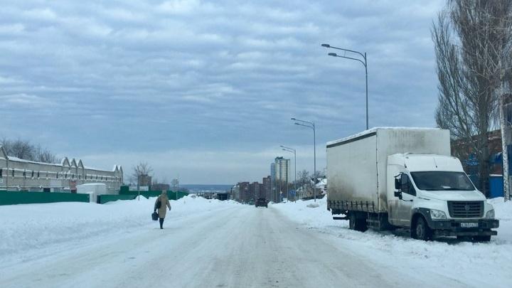 «Она ж брошенка!»: самарцы пожаловались на плохую уборку улицы Луначарского