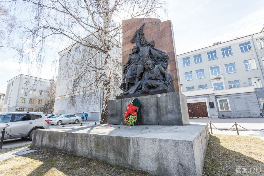 Мемориал появился здесь в 1961 году.