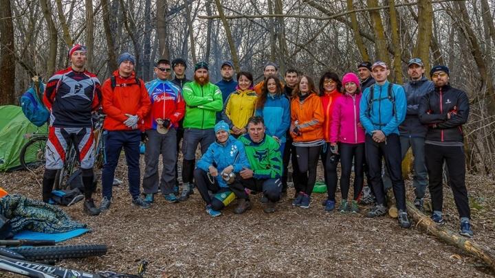 Волгоградские велосипедисты открыли новый сезон пробегом в Волго-Ахтубинскую пойму
