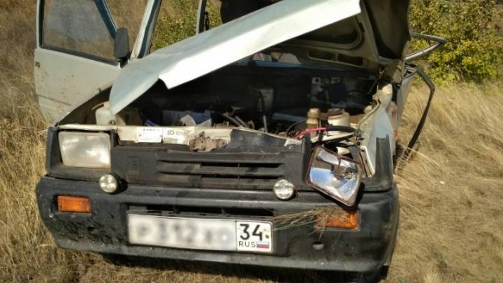 Под Волгоградом двое подростков «упали с дерева» в угнанной «Оке»