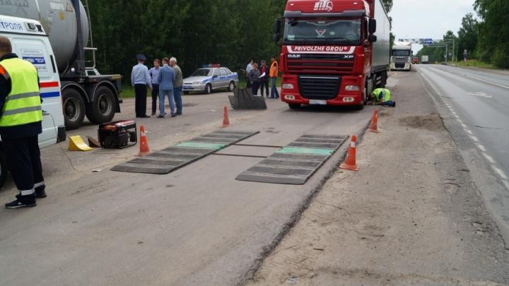 Пункт досмотра большегрузов установят на Ракитовском шоссе к ноябрю