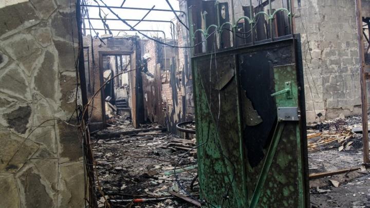Газ в уцелевшие дома района пожаров в Ростове подадут сегодня