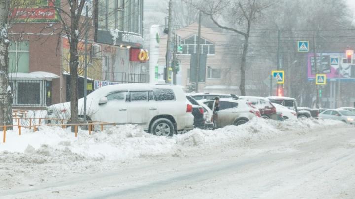 Тариф на платную парковку в Самарской области установят к 30 декабря