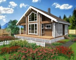 Деревянный дом мечты за 1,9 млн рублей
