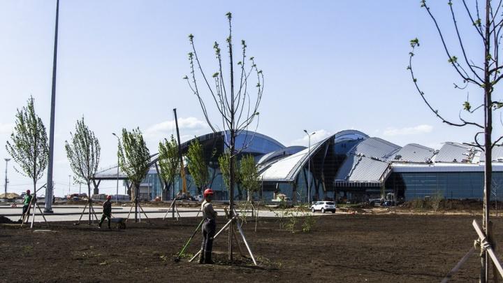 Строительство здания аэровокзала Платов завершено на 89%