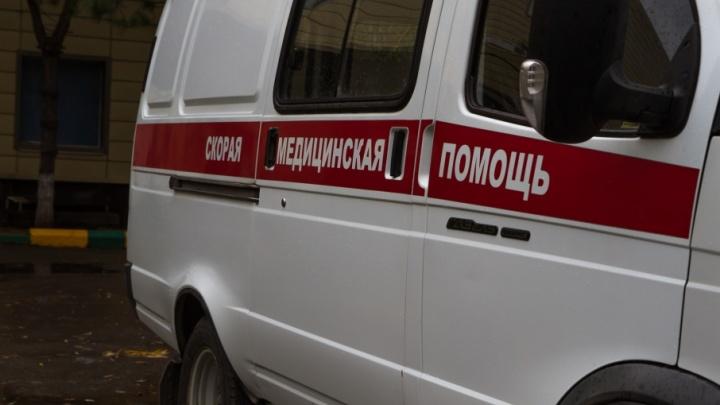 В Дубовском районе произошла ночная авария с участием автобуса