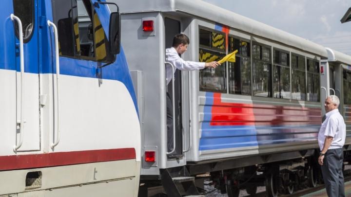 В Волгограде открывается юбилейный сезон детской железной дороги