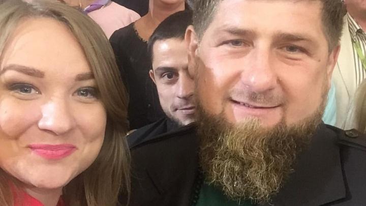 «Так сошлись звезды»: журналистка из Тольятти станцевала лезгинку перед Кадыровым
