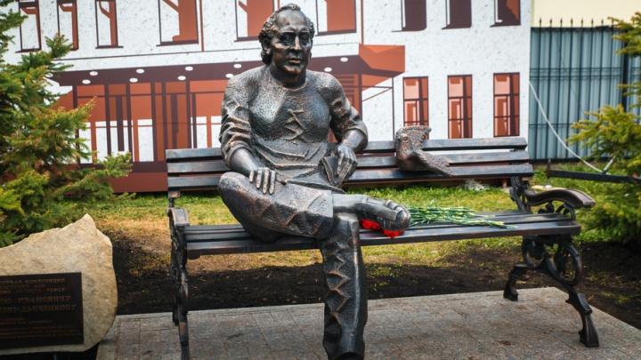 В Тюмени открыли памятник актеру-фронтовику Георгию Дьяконову-Дьяченкову
