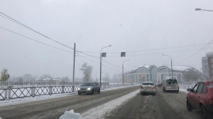 Мэрия о снегопаде: ничего критичного