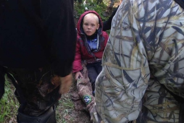4-летнего Диму нашли живым.