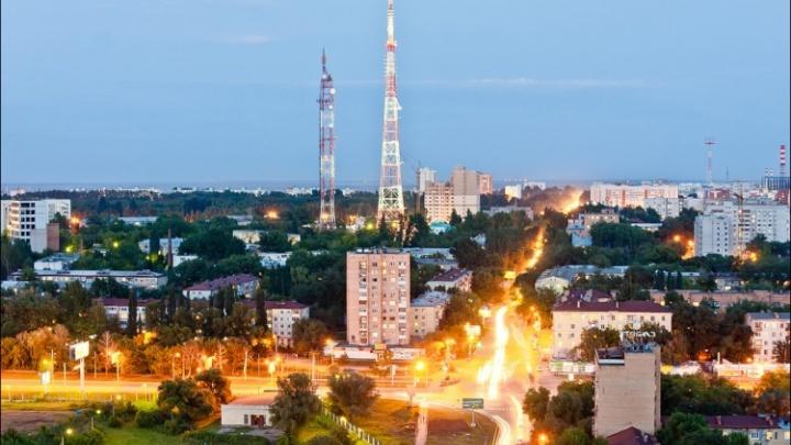 В Самаре покрасят телебашню: капли будут разлетаться в радиусе до 200 метров