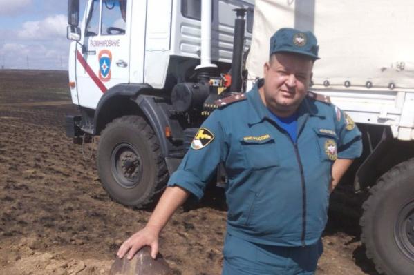Владимир Кочетков руководил всеми разминированиями авиабомб в Волгоградской области