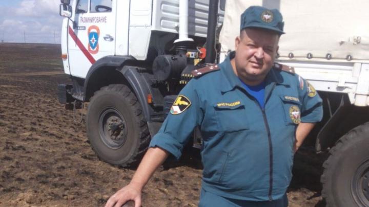 В перевернувшемся на трассе автобусе погиб начальник службы РХБЗ ГУ МЧС по Волгоградской области