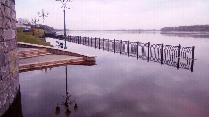Волга вышла из берегов: какие еще города под угрозой