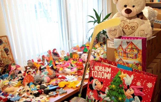 Сбербанк исполнил новогодние желания детей