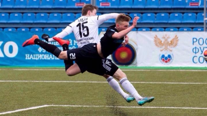 17-летний защитник ФК «Тюмень» Павел Маслов дебютировал в составе юношеской сборной России